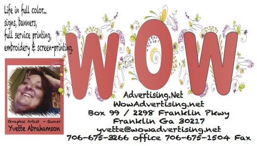WowAdvertising.Net: 2298 Lagrange Street, Franklin, GA