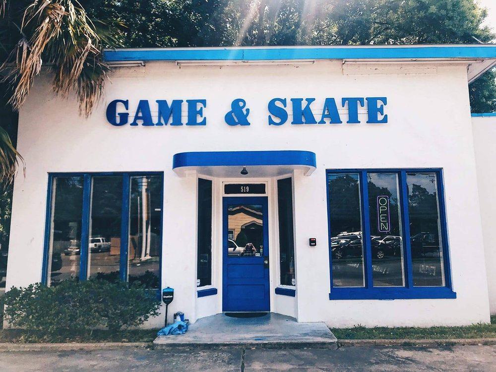 Game & Skate: 519 S Gordon St, Alvin, TX