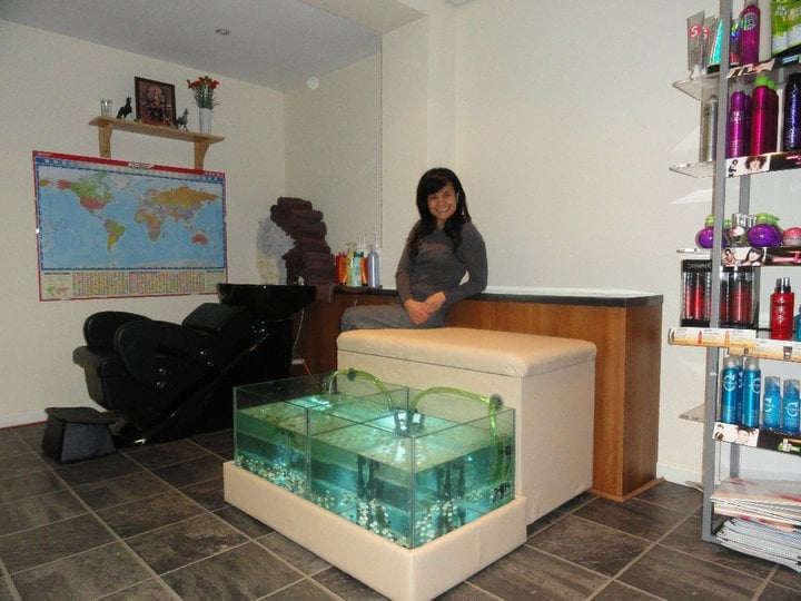 Phets hair studio nail salons 156 hednesford road for Fish pedicure locations near me