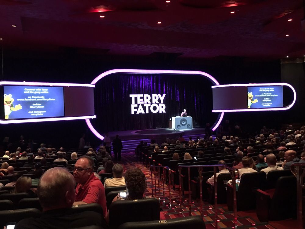 Terry Fator Theatre At Mirage Hotel And Casino  Our Seats