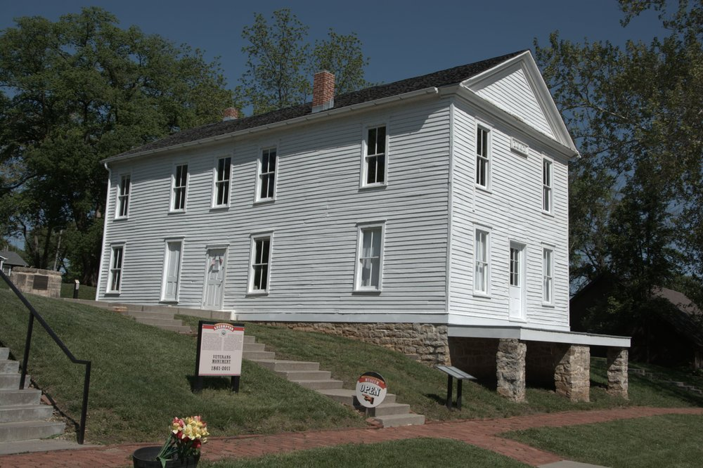 Constitution Hall State Historic Site: 319 Elmore St, Lecompton, KS