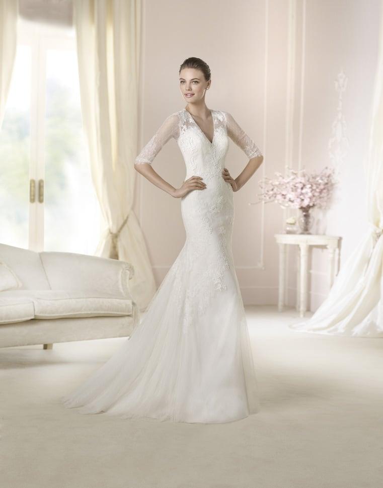 White One Brautkleider der Pronovias Fashion Groupe Kollektion 2015 ...