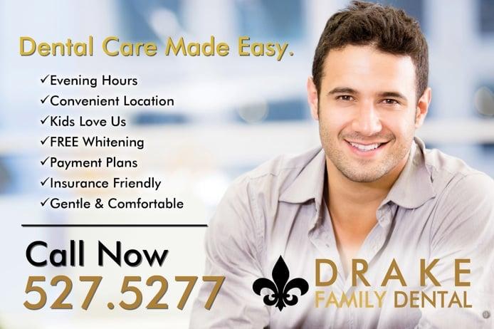 Drake Dental: 610 W Main St, El Paso, IL