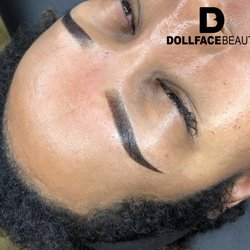 9fad647b698 Photo of Dollface Beauty - Silver Spring, MD, United States. Powder brows  are