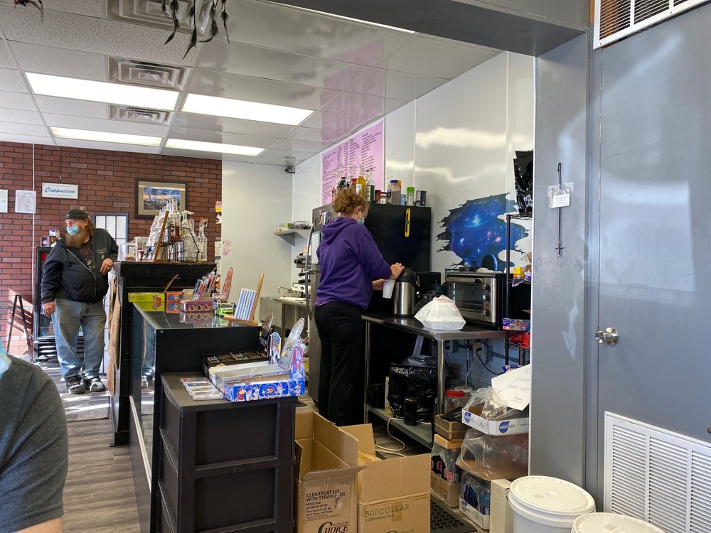 moonshot coffee: 206 Sylamore Ave, Mountain View, AR