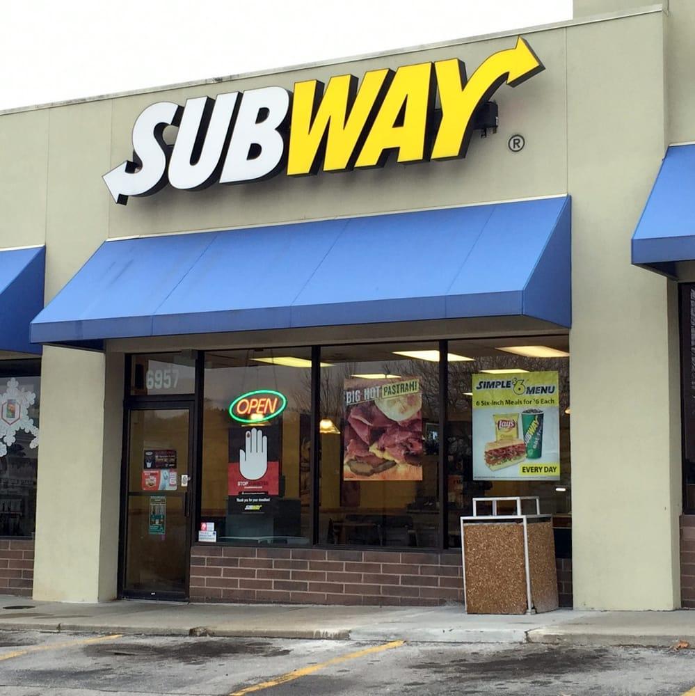 Subway Restaurant Overland Park Ks
