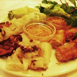 Aux Delices Vietnamese Restaurant Menu