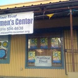 Martinez Street Women's Center logo