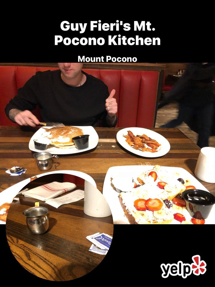 Food from Guy Fieri's Mt. Pocono Kitchen