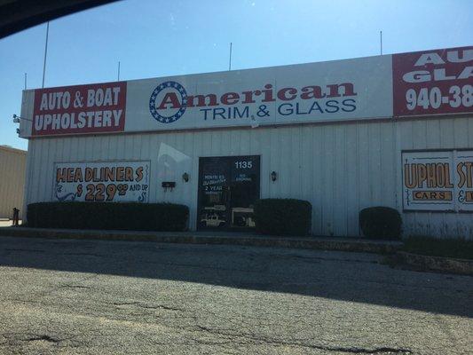 American Trim Glass 1135 Fort Worth Dr Denton Tx Phone