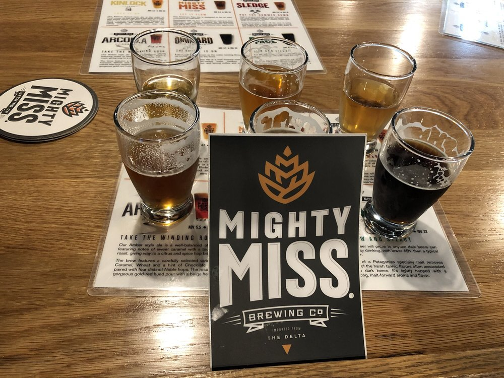 Mighy Miss Brewing Company: 525 Washington Ave, Greenville, MS