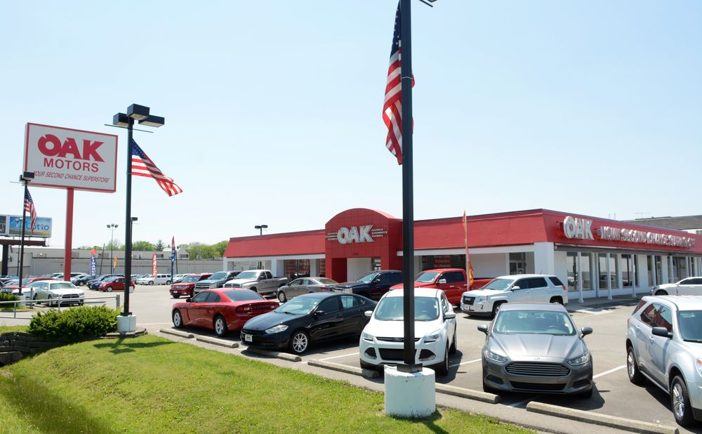oak motors car dealers 1150 n shadeland ave