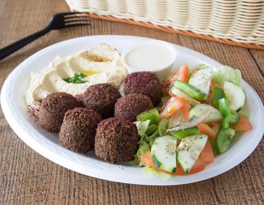 Food from Rozana Mediterranean Grill