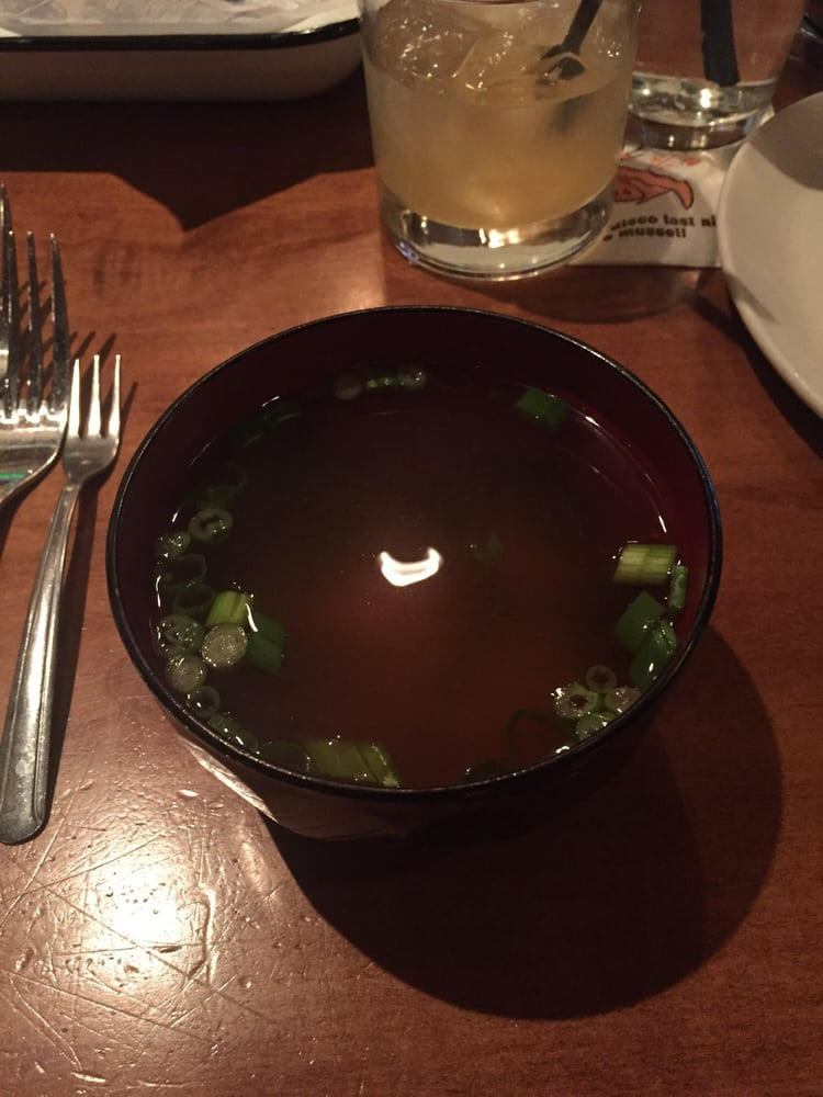 Miso soup yelp for King fish house huntington beach ca