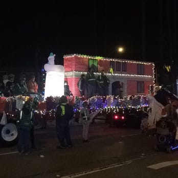 photo of the belmont shore christmas parade long beach ca united states
