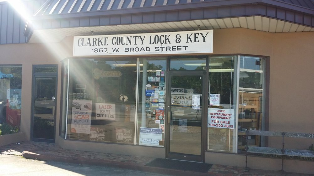 Clarke County Lock And Key: 1957 W Broad St, Athens, GA