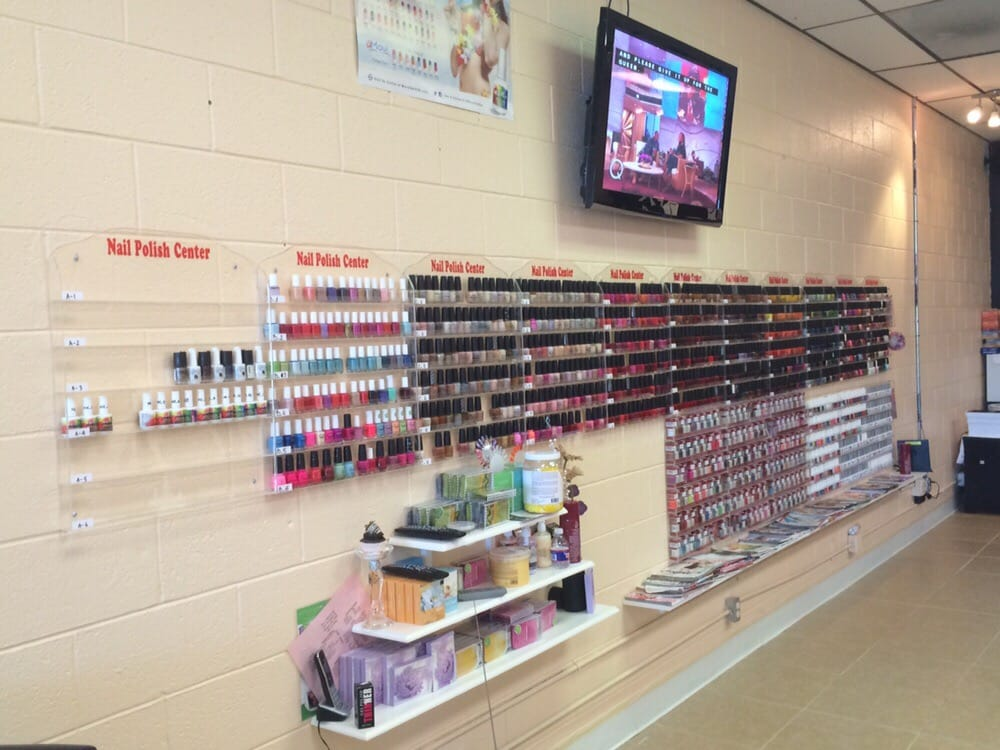 Our nail polish center including of O.P.I Nail Lacquer, Essie, DND ...