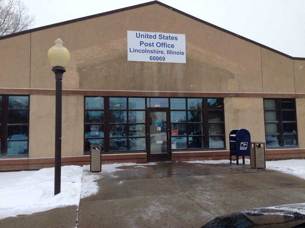 US Post Office: 125 Schelter Rd, Lincolnshire, IL