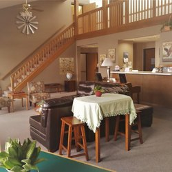 Photo Of Sunrise Inn Mondovi Wi United States Front Desk And Lobby