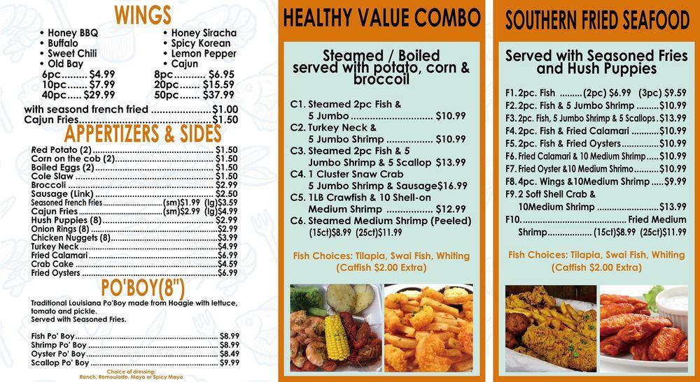 Cajun Seafood & Wings