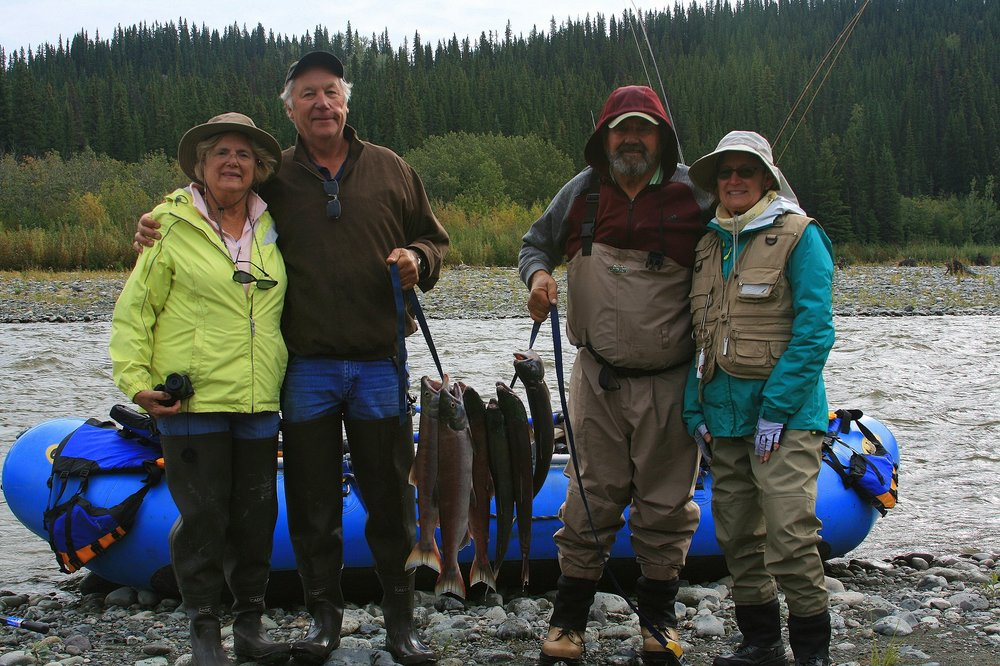 New Skies Rafting & Fishing: Gakona, AK