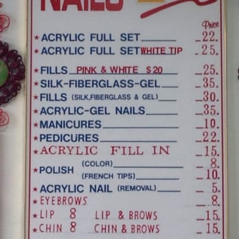 Photo Of Tina S Nails Lakeland Fl United States Prices For
