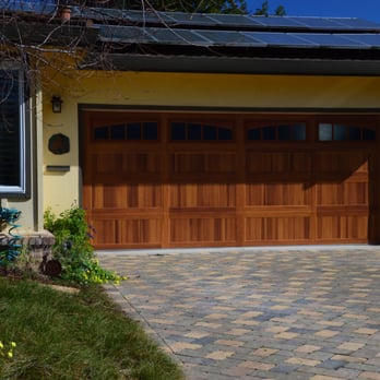 Sousa s garage doors 16 photos 68 reviews garage for Steel garage doors that look like wood