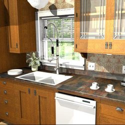 Photo Of Starcraft Custom Builders   Lincoln, NE, United States. Redesigned  Craftsman Kitchen