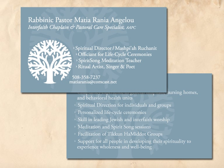 Business Card For A Chaplain Yelp