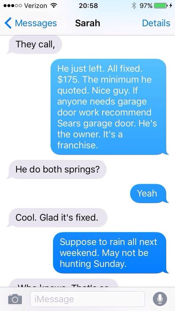 Sears Garage Door Installation and Repair: 2825 S Glenstone Ave, Springfield, MO