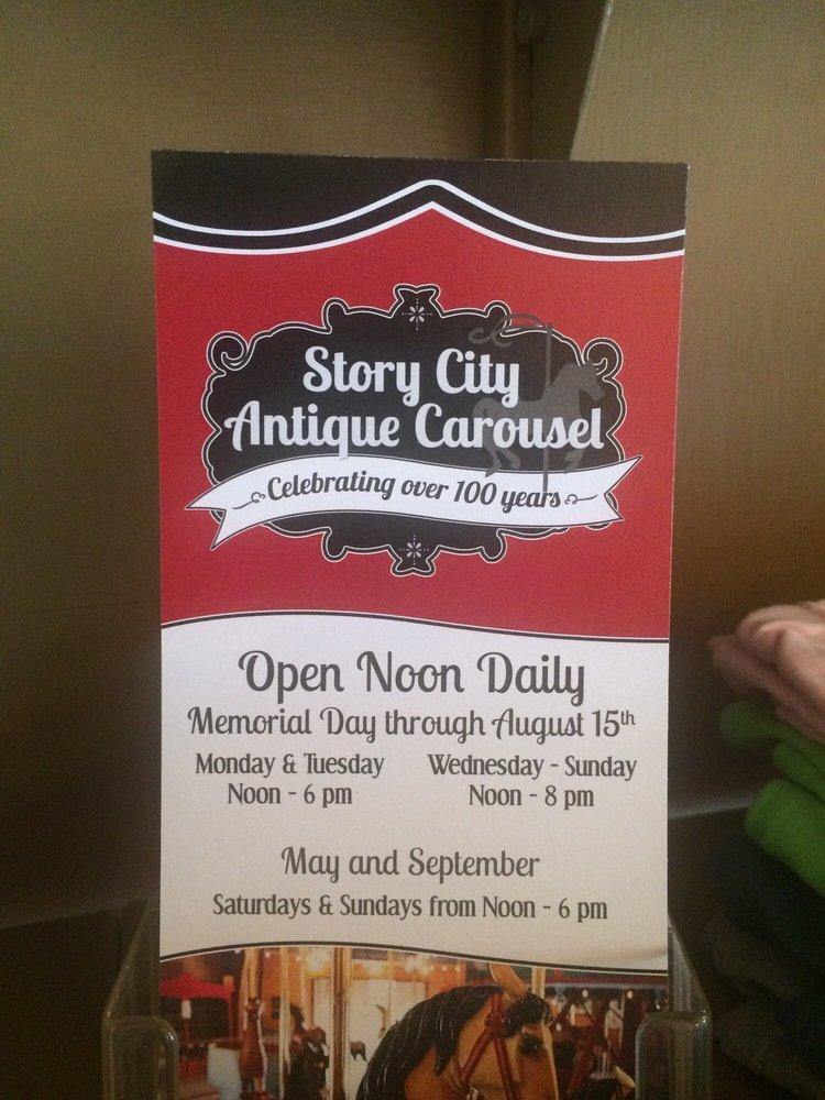 Carousel Story City: 102 Park Ave, Story City, IA