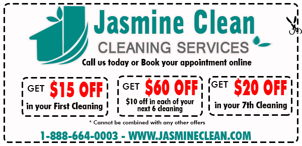 Cleaning service discount coupons