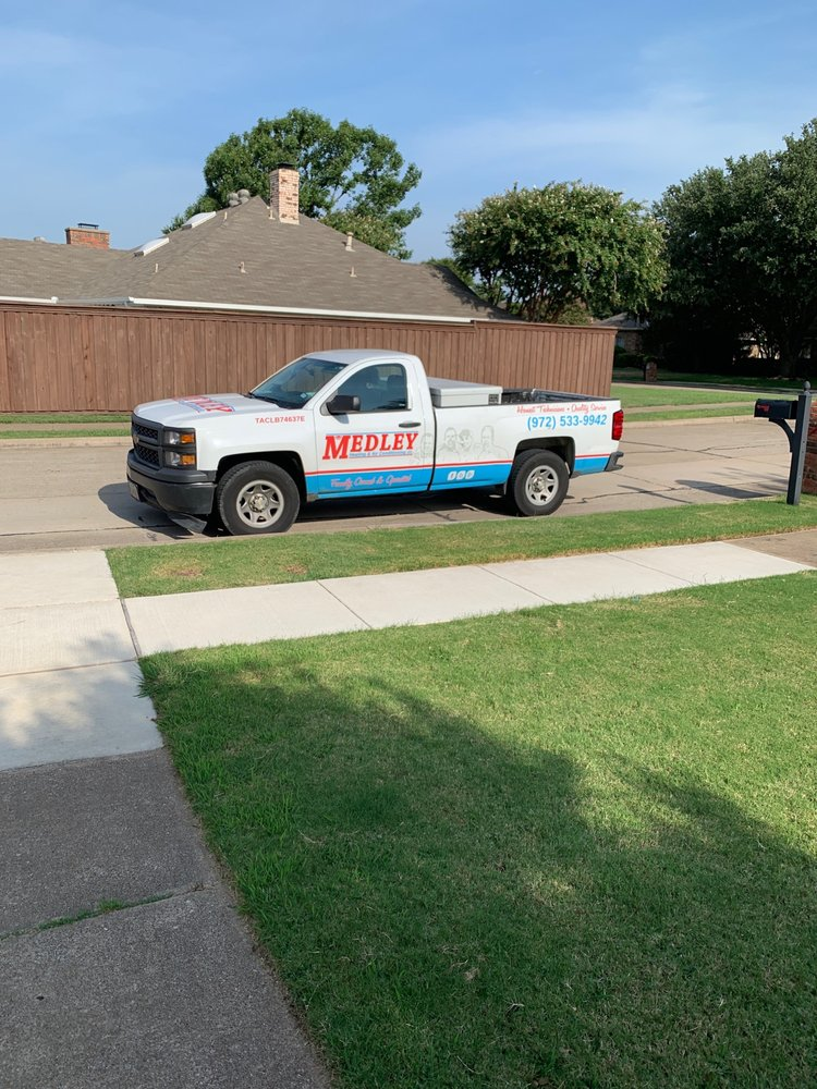 Medley Heating and Air Conditioning: 1421 Champion Dr, Carrollton, TX