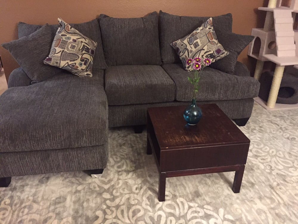 Sofa Set From MOR. The Legs On The Bottom Came Off After A Few Months   Yelp