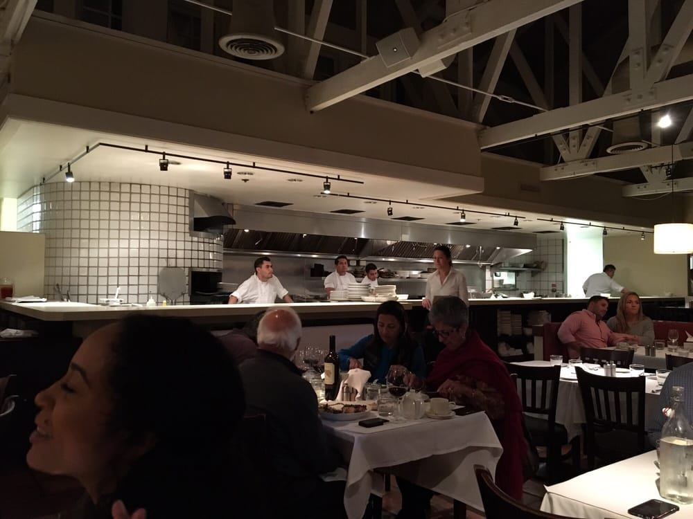 Lovely open kitchen yelp for Piatti ristorante