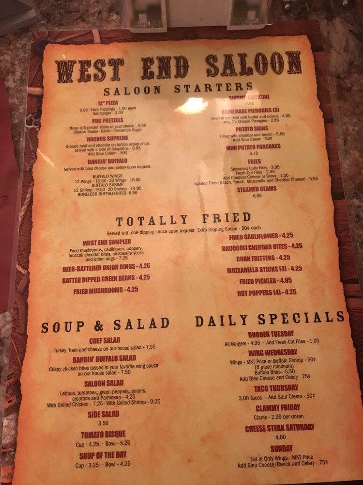West End Saloon: 1121 Mauch Chunk Rd, Palmerton, PA