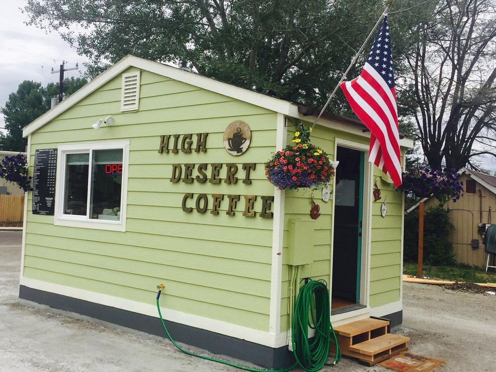 High Desert Coffee Company: 511 N G St, Lakeview, OR