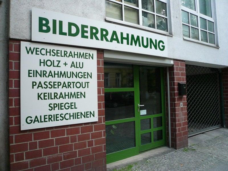 Bilderrahmung Manteuffelstraße - Bilderrahmen - Manteuffelstr. 66 ...