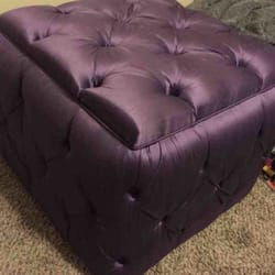 Attractive Photo Of Luis Custom Upholstery   Houston, TX, United States. Custom  Ottoman!