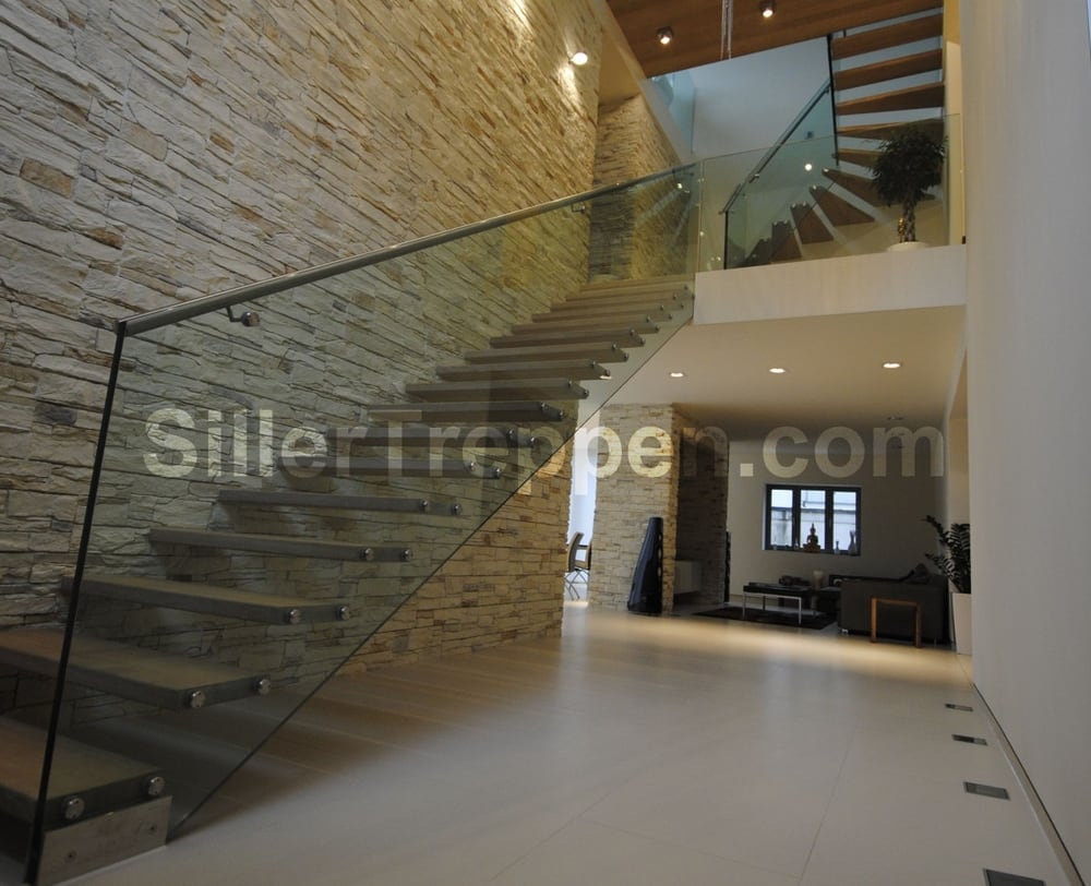 Structural Glass Staircase Modern Stair Custom Design Yelp
