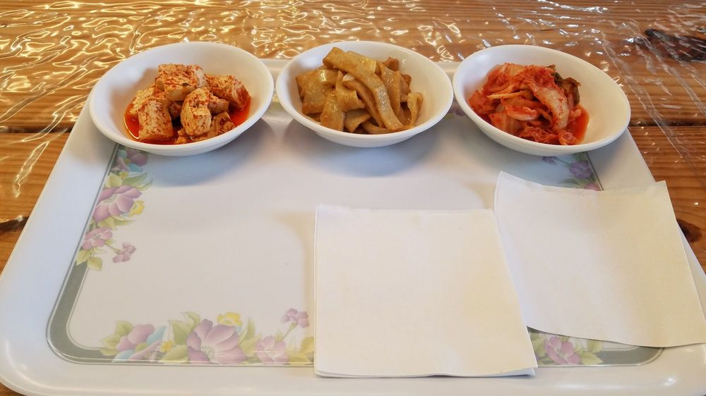 Food from Liberty Korean Market & Restaurant