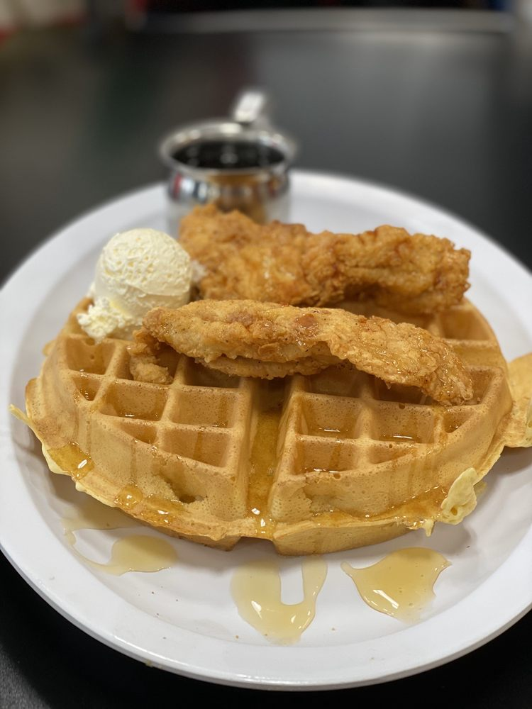The Waffle: 4115A Broadway St, Mount Vernon, IL
