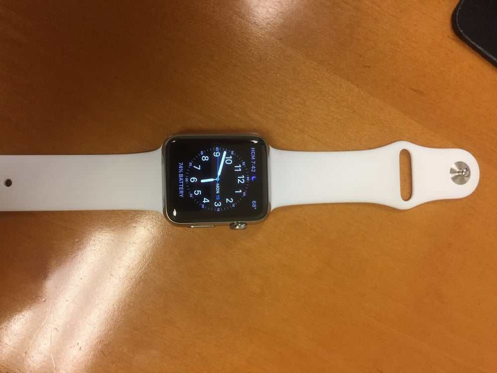 apple watch got my apple watch band replaced here the. Black Bedroom Furniture Sets. Home Design Ideas