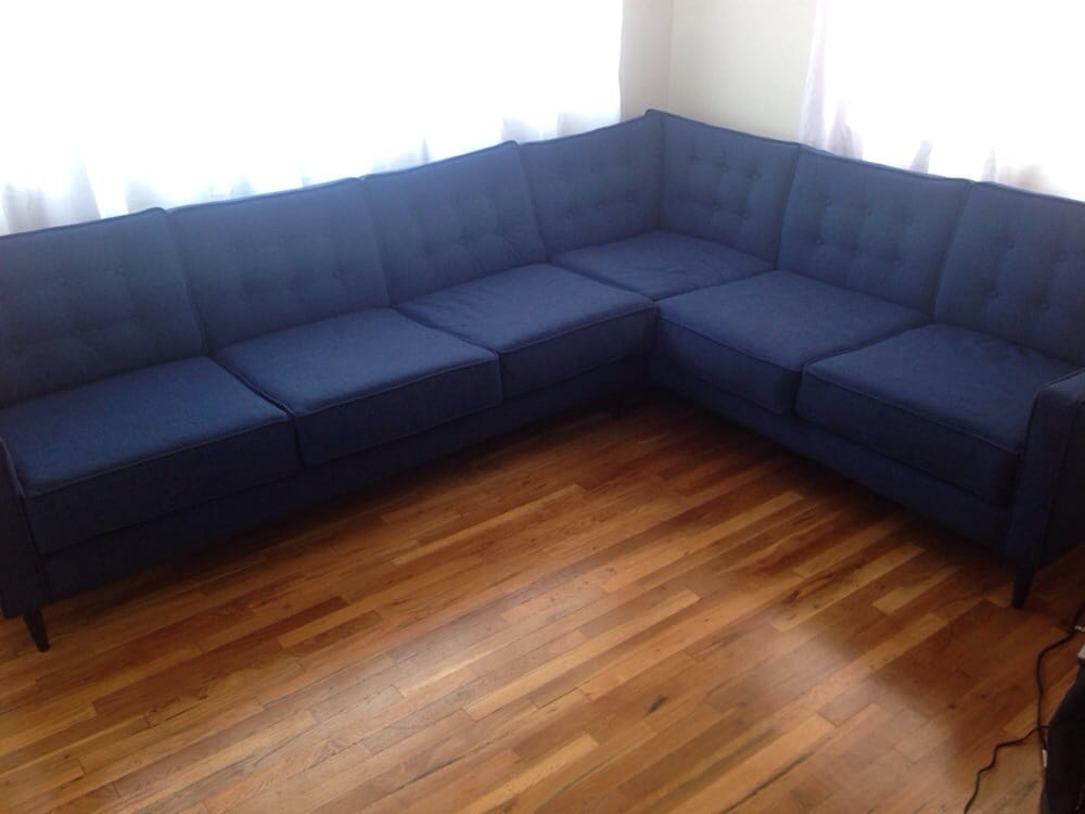 My awesome new sectional  yelp