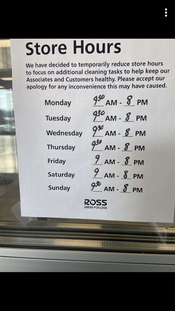 Ross Dress for Less: 4027 Commonwealth Ave, Eau Claire, WI