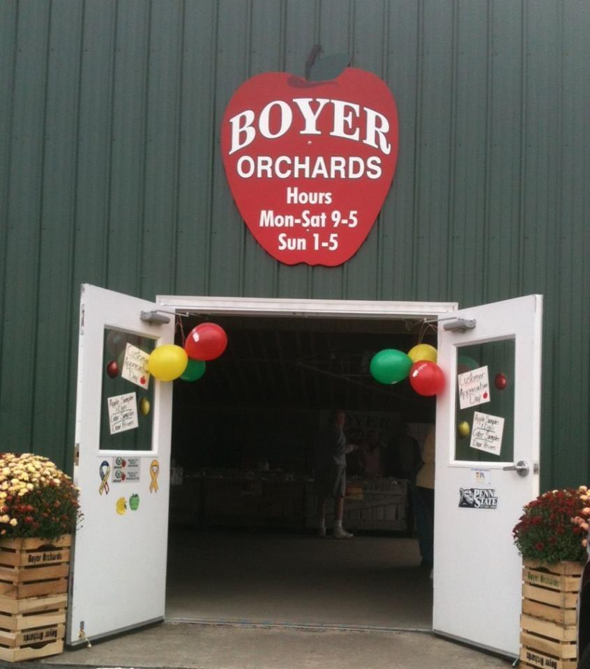 Boyer Orchards: 4116 Cortland Dr, New Paris, PA