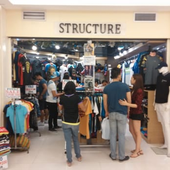 Structure clothing store locations