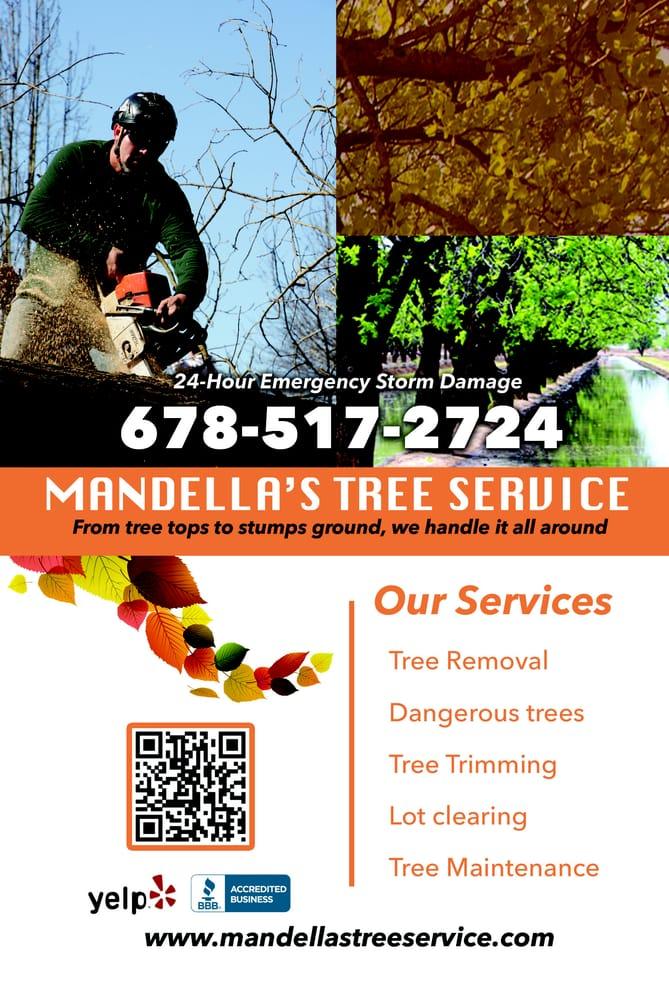 Mandella's Tree Service: 1225 Cabots Ridge, Auburn, GA