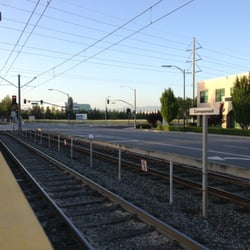 Photo Of Vta Light Rail Station   Component Station   San Jose, CA, United