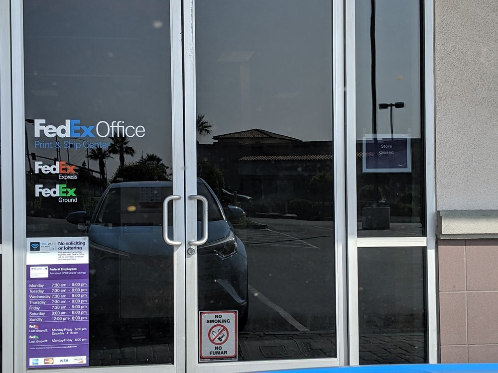 FedEx Office Print & Ship Center: 1297 E Ontario Ave, Corona, CA